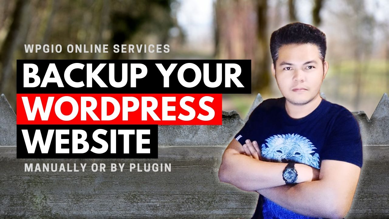 How to Backup Your WordPress Site | 2019 Tutorial 1