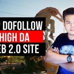 TOP DOFOLLOW HIGH DA WEB 2.0 Site