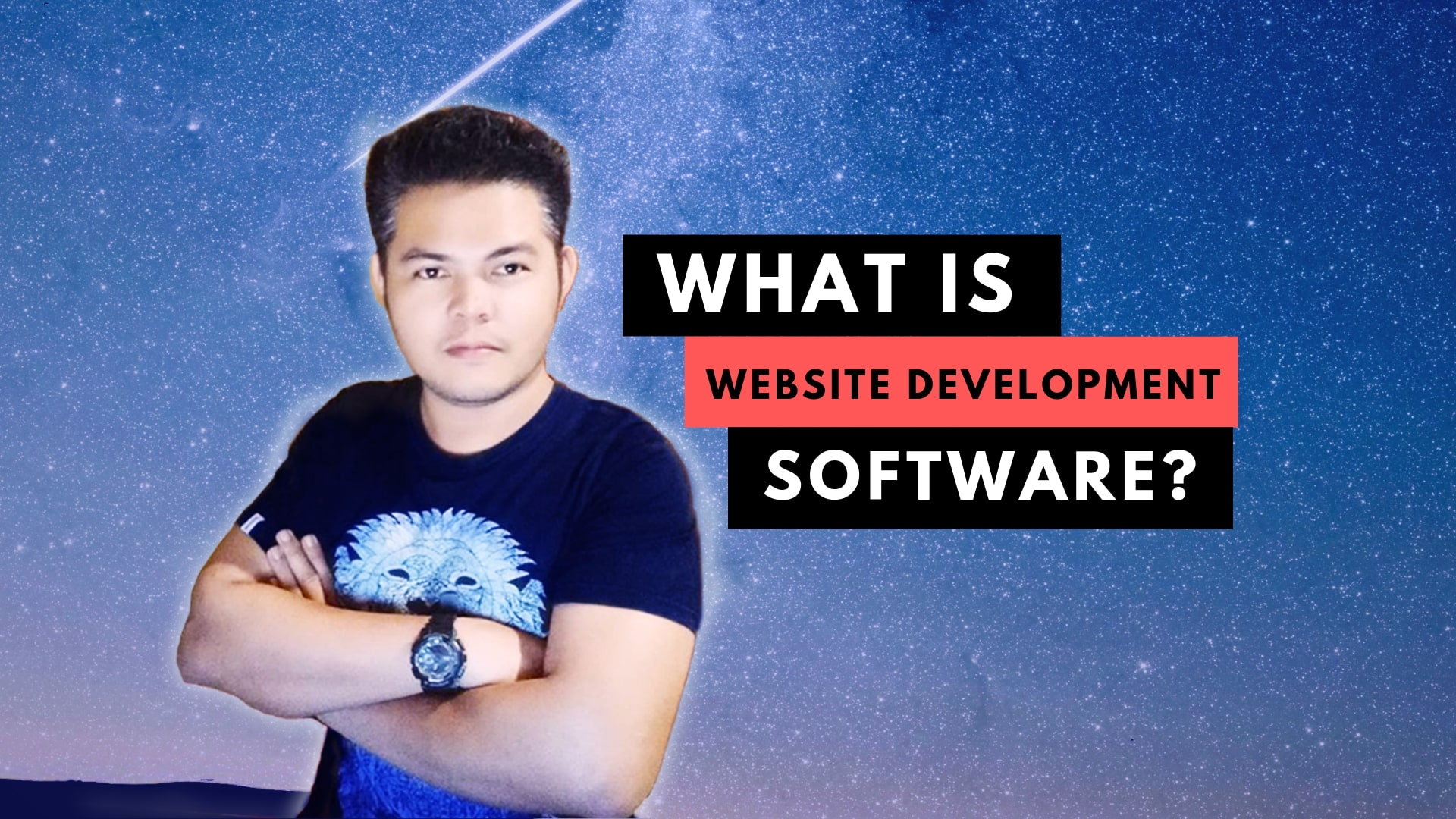 WHAT IS WEBSITE DEVELOPMENT SOFTWARE?