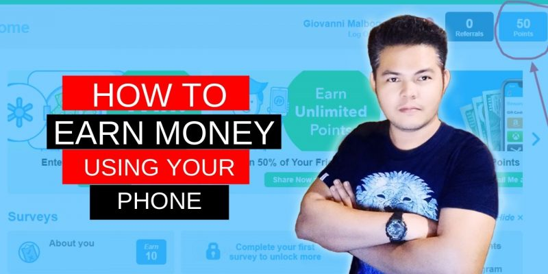 HOW to EARN MONEY using your PHONE | EASIEST way