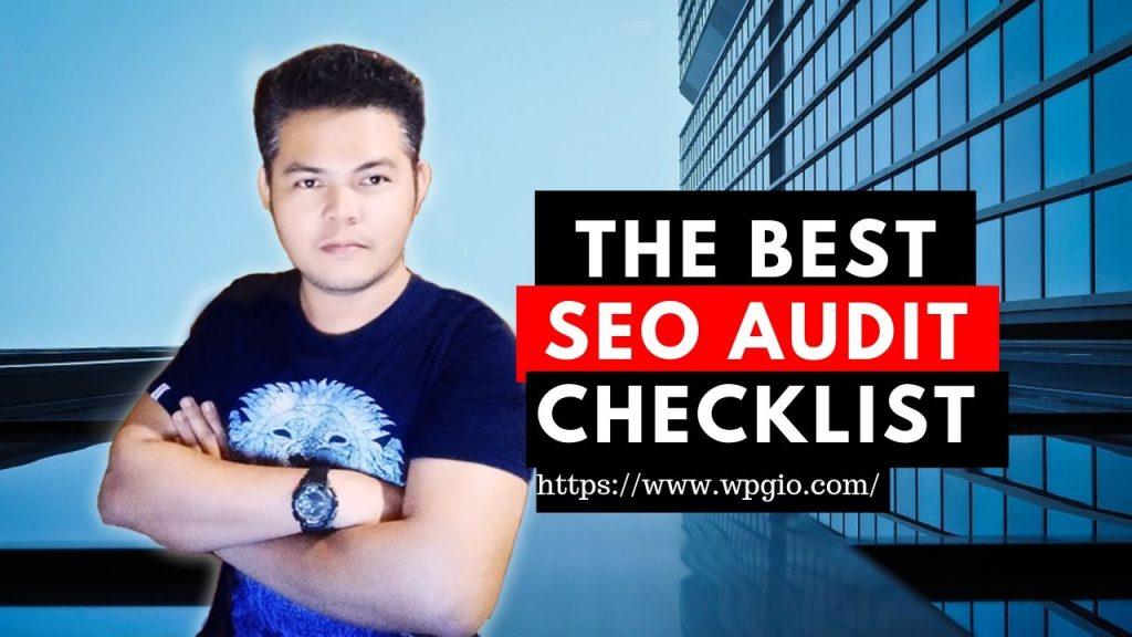 the best seo audit checklist