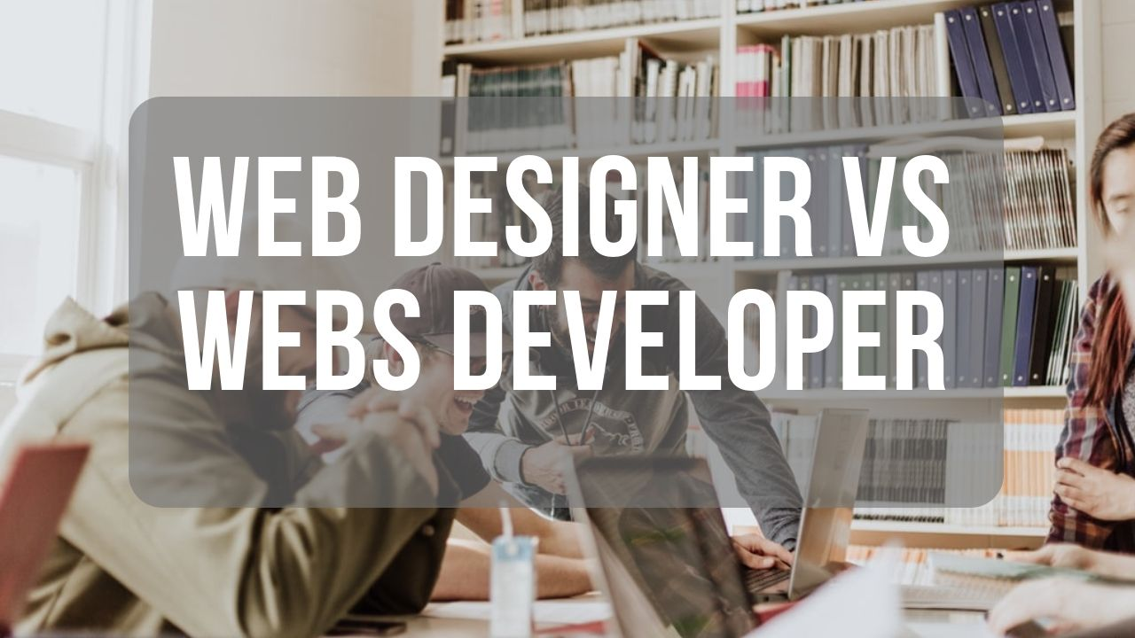 The Diff Between Web Designer and Web Developer