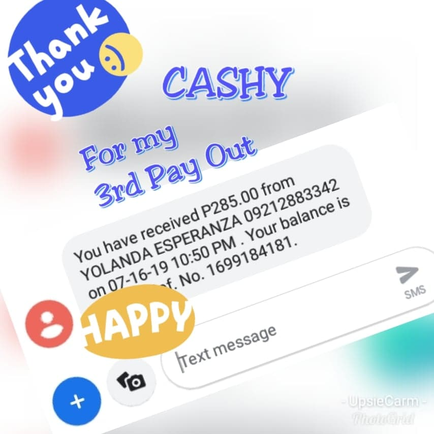 Cashy 3rd Payout