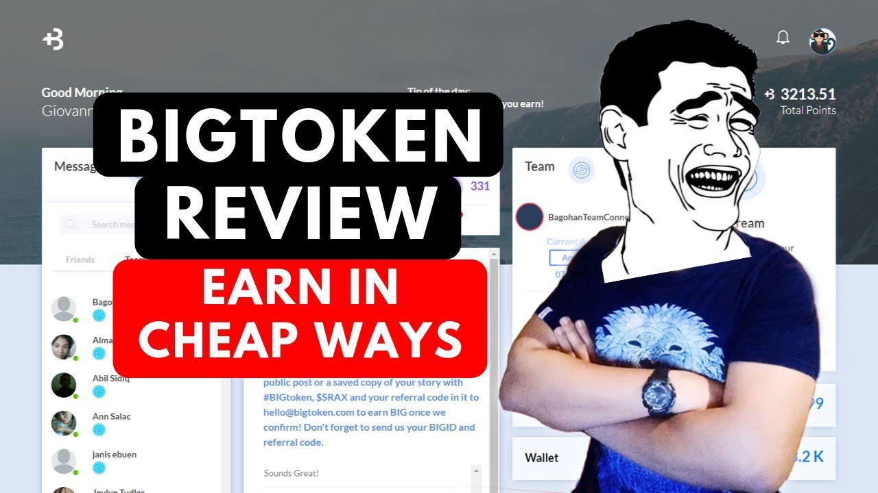BigToken Review: Legit? Or Scam? Earn $5 Fast! 1