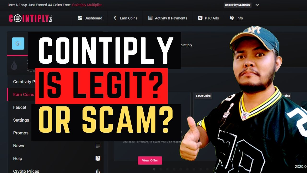 Cointiply Review – Is Legit or Scam? (June 2021)
