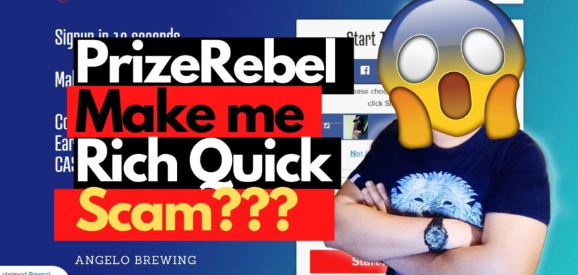 PrizeRebel Review - Discover Legit or Scam? (April 2020) 3