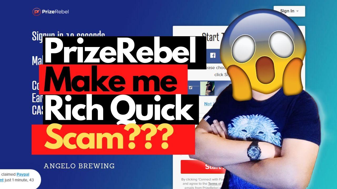 PrizeRebel Review – Discover Legit or Scam? (June 2021)