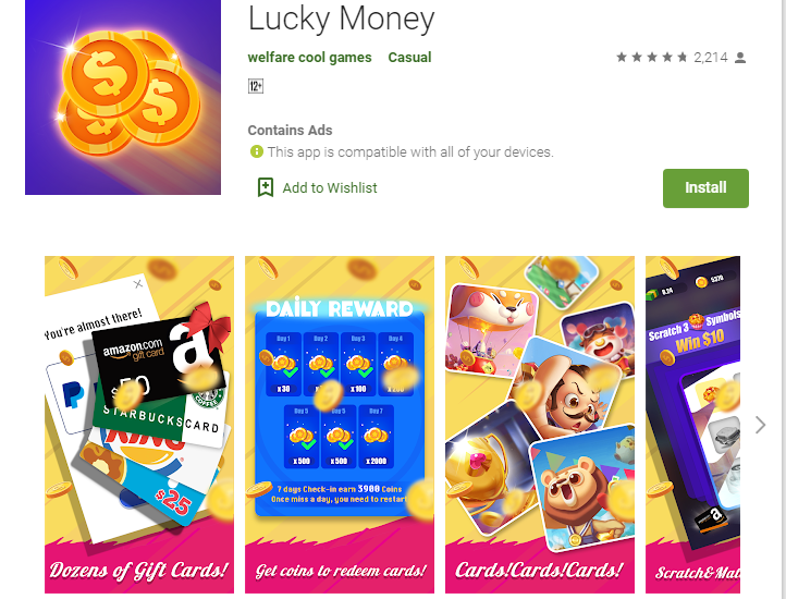 Lucky Money App Review