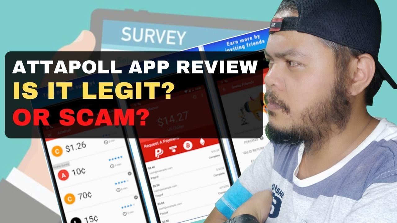 AttaPoll App Review – Legit or Scam?