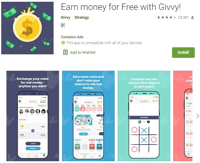 givvy app review
