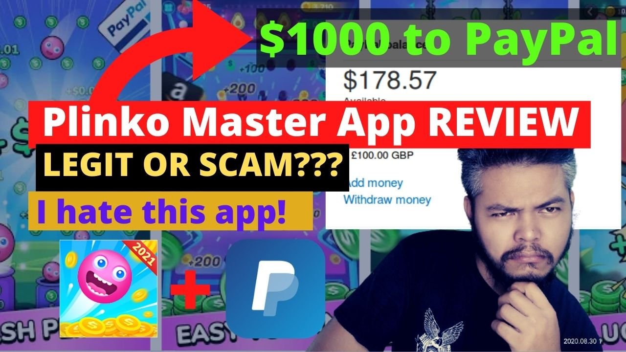 Plinko Master App Review – $1000 to PayPal? Legit or Scam?