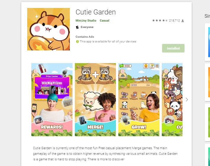 cutie garden review