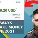 EASY WAYS TO MAKE MONEY ONLINE 2021