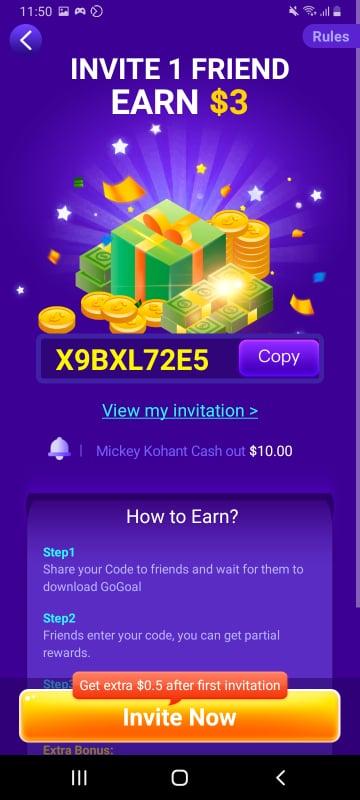 GoGoal App Review - Legit or Scam? $10 in Paypal 4