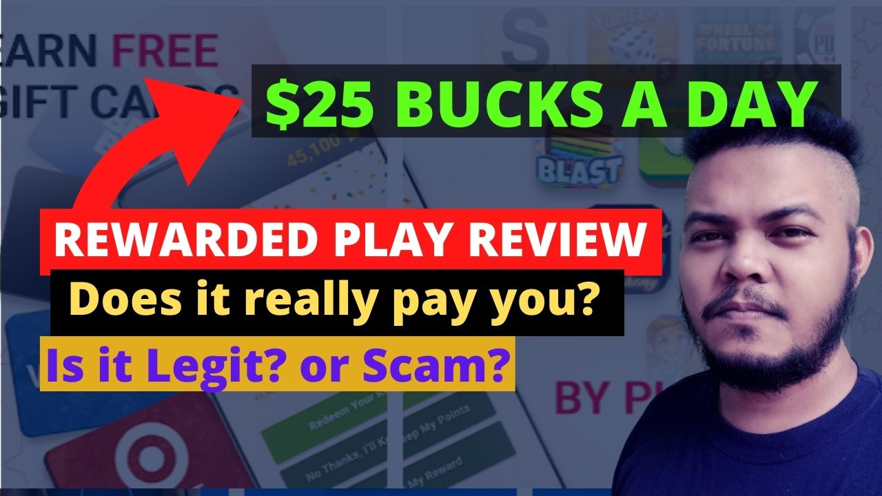 Rewarded Play App Review – is it Legit or Scam?