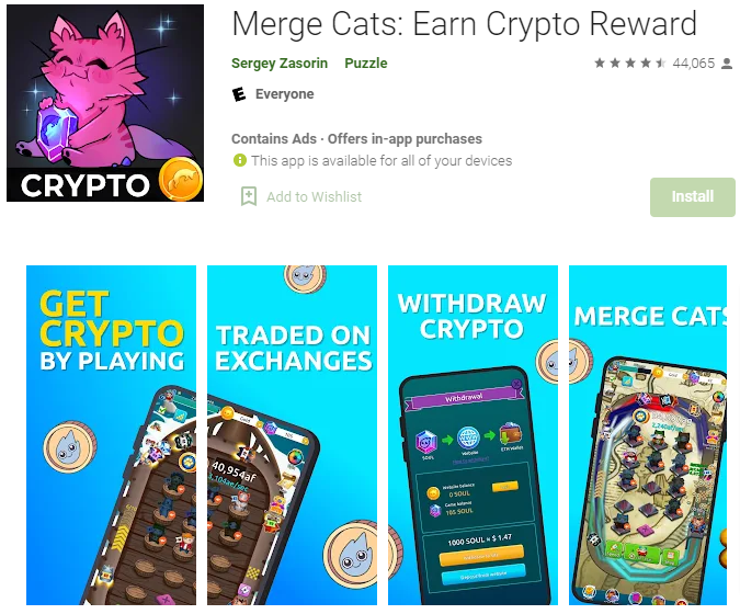 Merge Cats App Review
